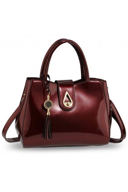 Trendy kabelka do ruky Lilliana bordová AG00650