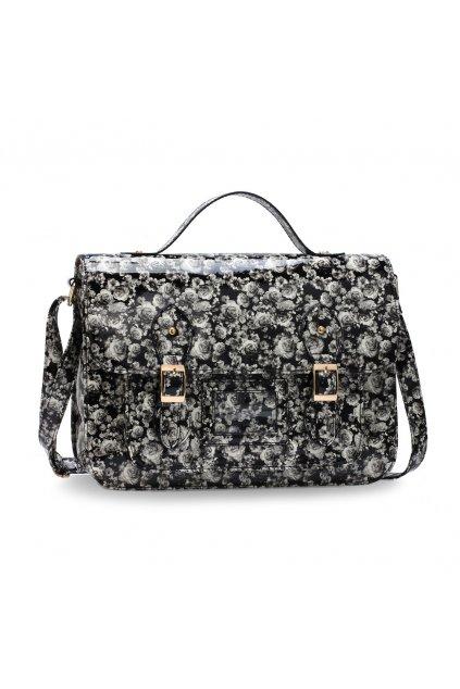 Crossbody kabelka Minnie Floral čierna AG00672