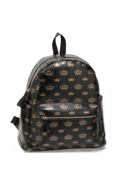 Farebný ruksak Crown čierna AG00186