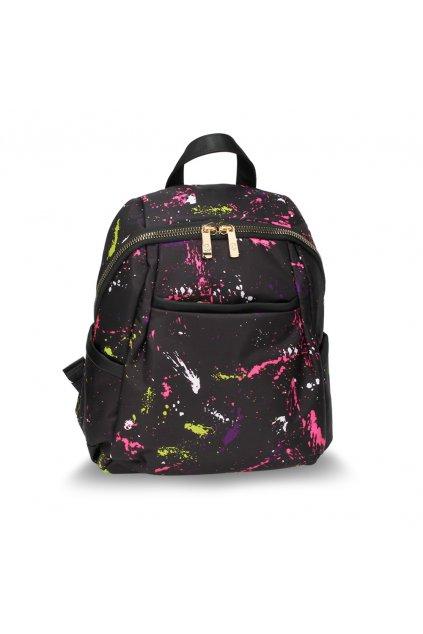 ČIerny ruksak Evelyn splash AG00614A