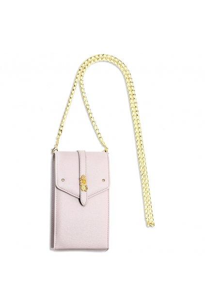 Crossbody fialová kabelka Kimberly AG00636