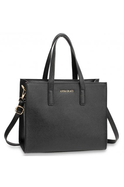 Trendy kabelka na rameno Skye čierna AG00592