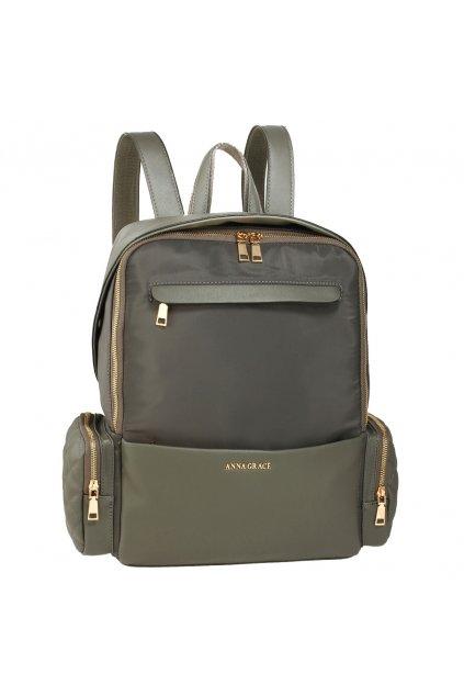 Sivý ruksak Isabell AG00572