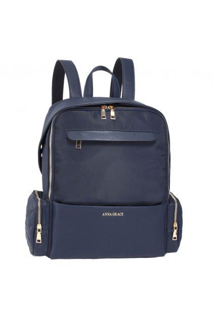 Modrý ruksak Isabell AG00572
