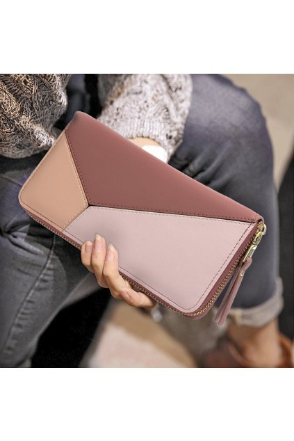 Ružová peňaženka pre ženy Stacy AGP5012