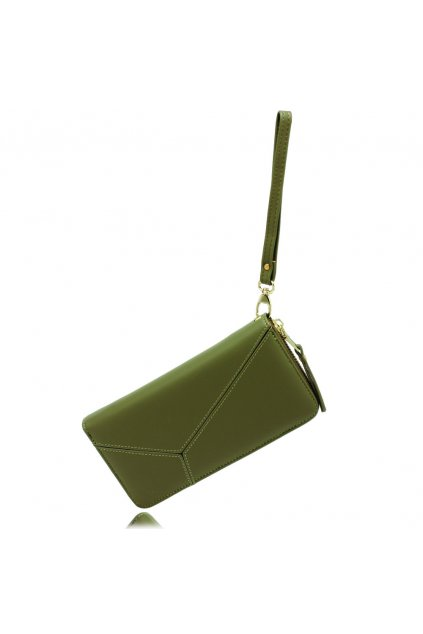 Olivová peňaženka pre ženy Stacy AGP5011