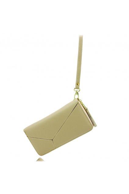 Béžová peňaženka pre ženy Stacy AGP5011