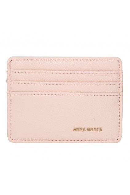 Ružová peňaženka pre ženy Grace card AGP1120