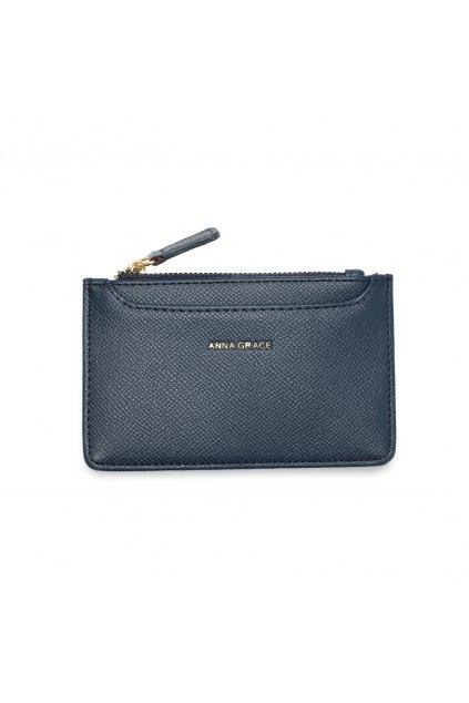 Námornícka modrá peňaženka pre ženy Coin Puch AGP1109