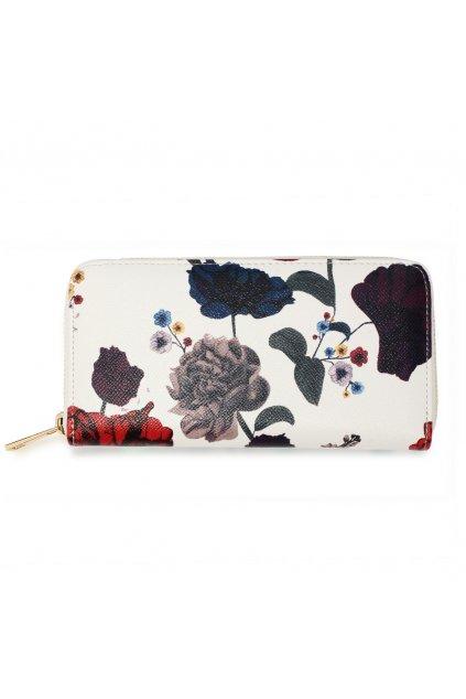 Viacfarebná peňaženka pre ženy Floral Print AGP1108