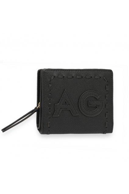 Čierna peňaženka pre ženy Levander AGP1105