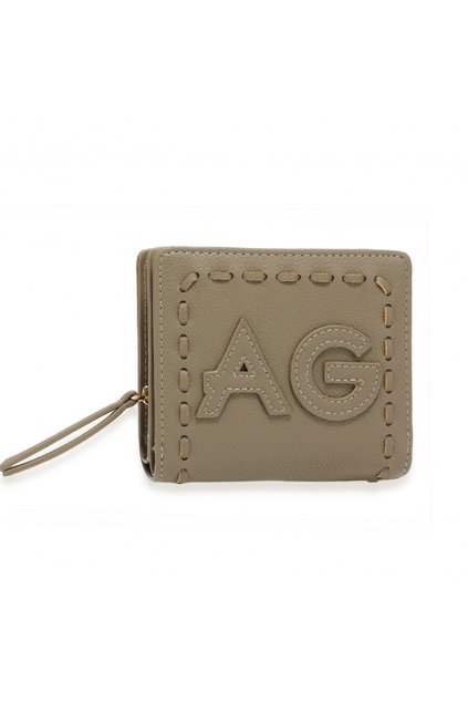 Sivá peňaženka pre ženy Levander AGP1105