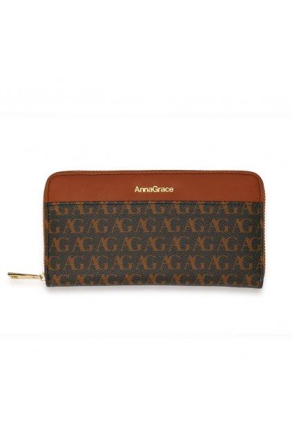 Čierna peňaženka pre ženy Anna Grace AGP1107