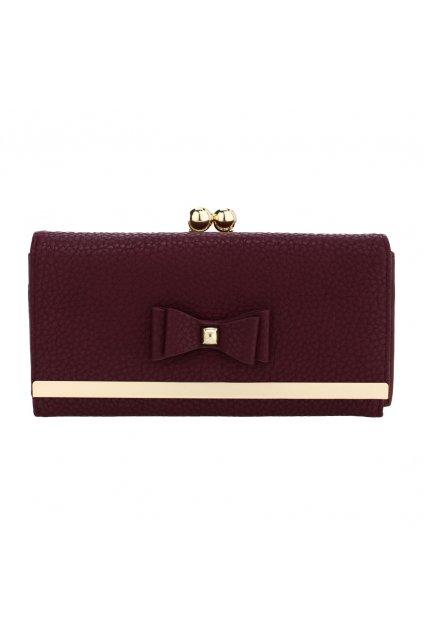 Bordová peňaženka pre ženy Alice AGP1077