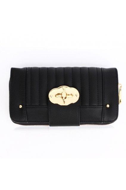 Čierna peňaženka pre ženy Hillary AGP1093