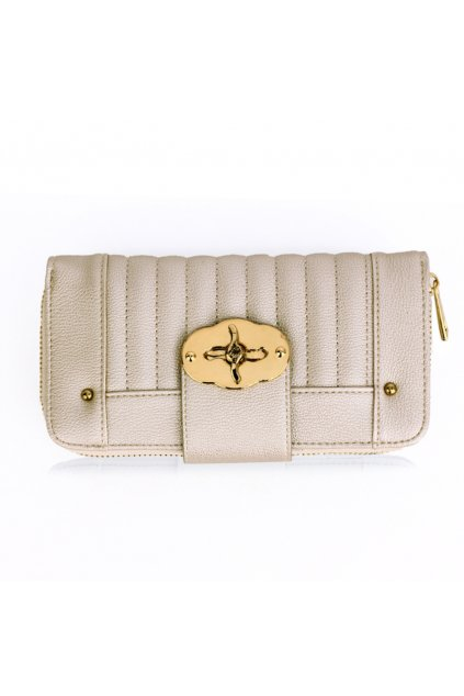 Slonovinová biela peňaženka pre ženy Hillary AGP1093