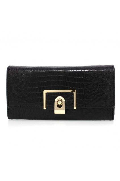Čierna peňaženka pre ženy Tiara AGP1092