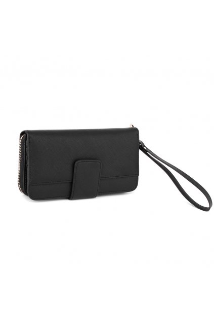 Čierna peňaženka pre ženy Genesis AGP1094