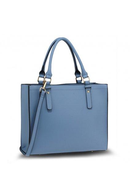 Kabelka do ruky Skyla modrý shopper AG00646