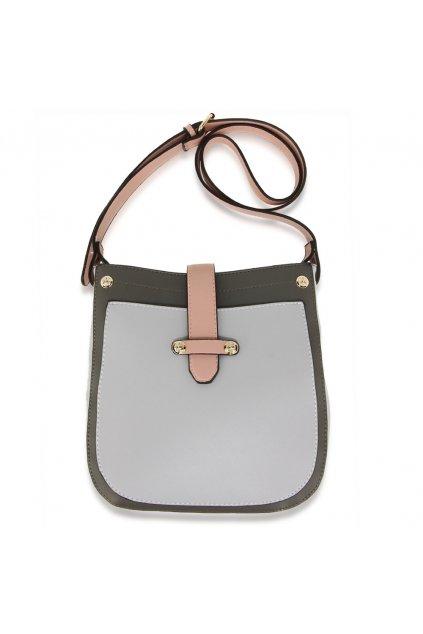Crossbody kabelka sivá / ružová Kyla AG00684