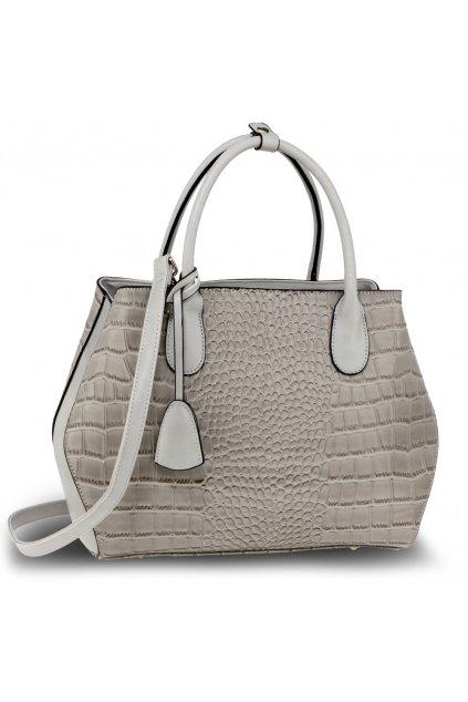 Sivá kabelka do ruky Mariam AG00644