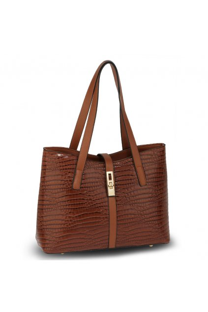 Hnedá kabelka do ruky Siena AG00710
