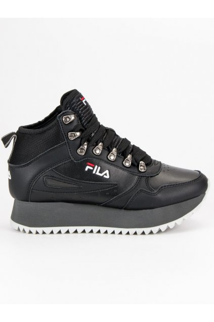 Dámske kožené topánky FILA ORBIT ZEPPA RIPPLE čierna