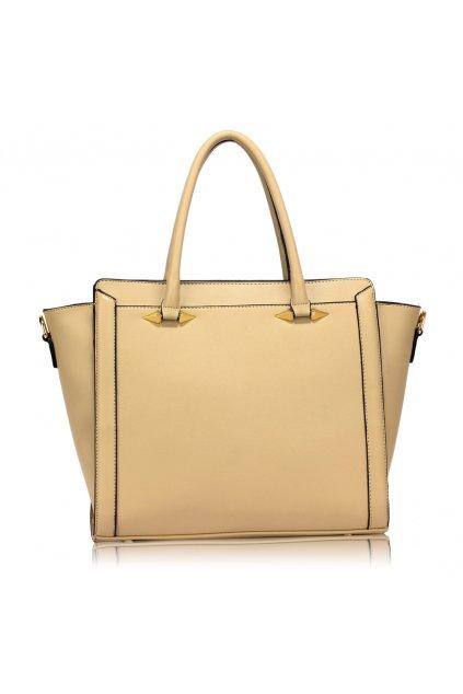 Trendy kabelka do ruky Anastasia béžová AG00516