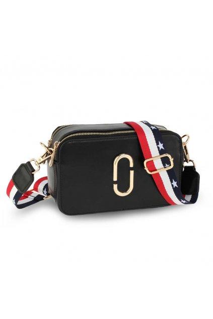 Crossbody kabelka čierna Alex AG00726