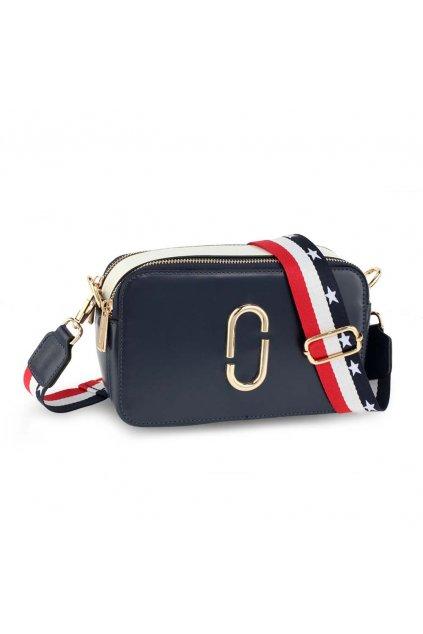 Crossbody kabelka biela / námornícka Alex AG00726
