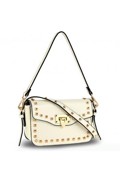 Crossbody kabelka biela Mandy AG00722