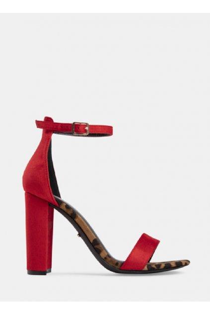 cervene sandale