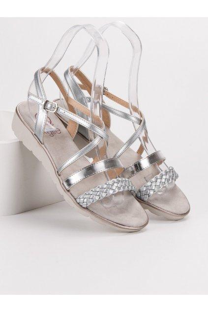 Sivé sandále  Kylie K1915005PL