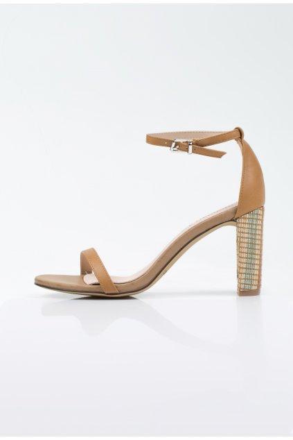 hnede monnari sandale