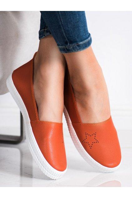 Oranžové tenisky Kylie kod K1832303NA