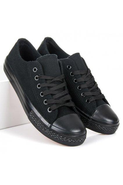 Čierne topánky Shelovet kod XL03B/