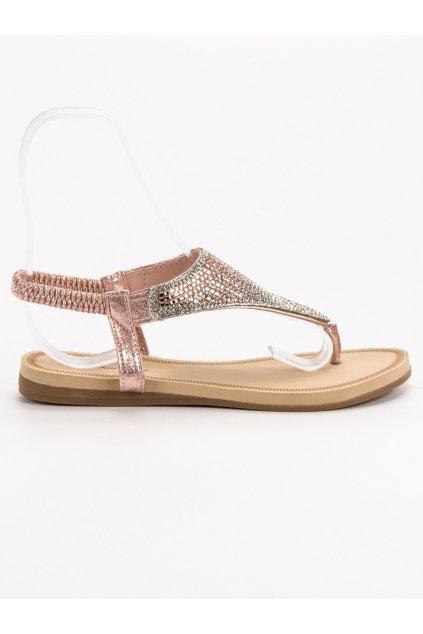 Ružové dámske sandále - Bello star S10-P
