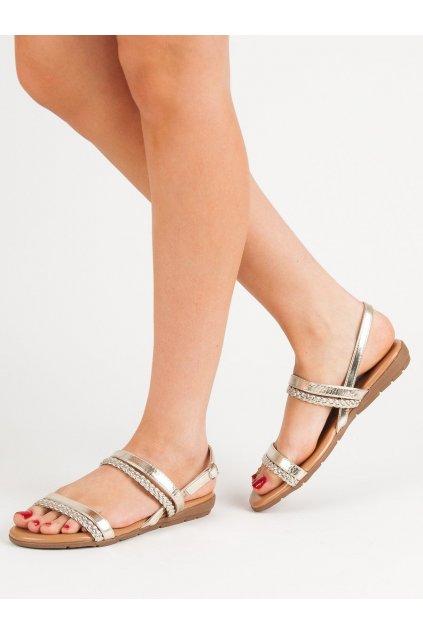 Žlté dámske sandále - Cm paris kod 839-737GO