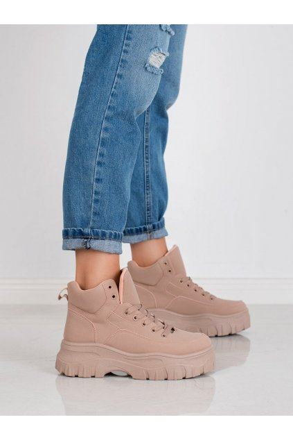 Ružové dámske topánky  Kylie kod K1941303NU