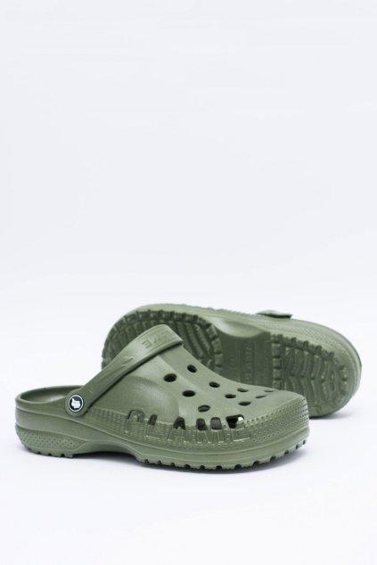 Pánske šľapky farba zelená kód obuvi A-7008 GREEN