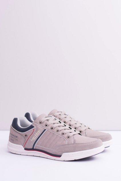 Pánska športová obuv sivá Brauner