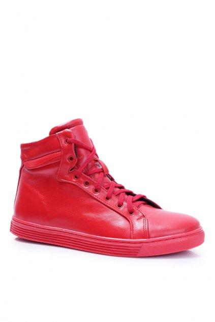 Pánské kožené topánky Bednarek Červené Edys