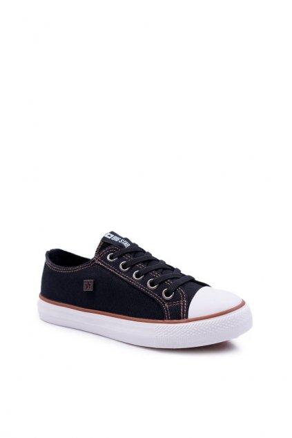 Detské tenisky farba čierna kód obuvi DD374090 BLK