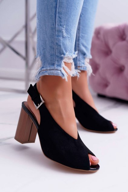Dámske Sandále čierne Celian