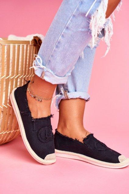 Dámske tenisky farba čierna kód obuvi NB273 BLK