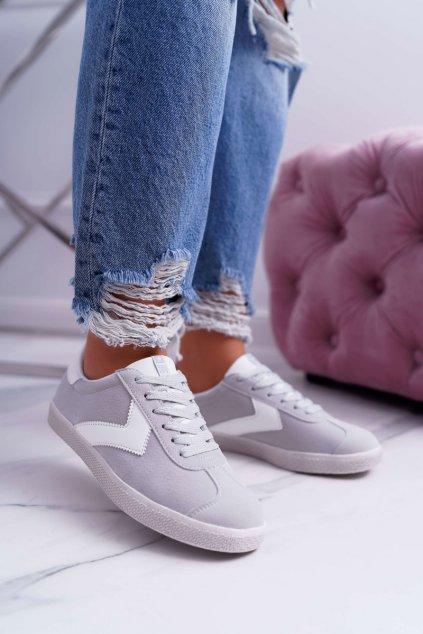 Dámska športová obuv B. Star sivé DD274296