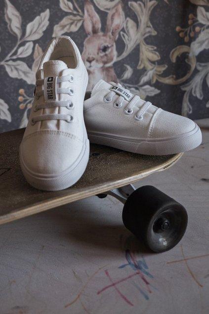 Detské tenisky farba biela kód obuvi DD374074 WHITE