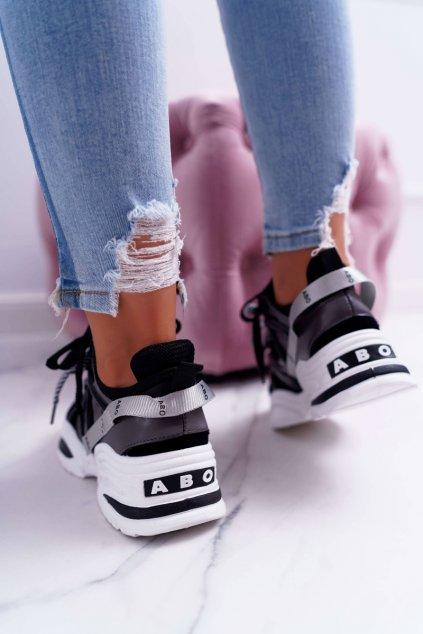 Dámska športová obuv čierne ABO