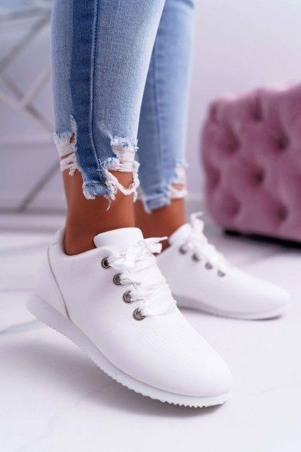 Dámska športová obuv biele Rhasta