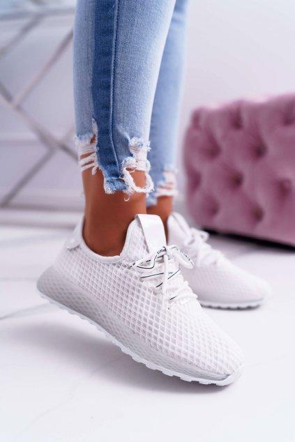 Dámska športová obuv biele Seande